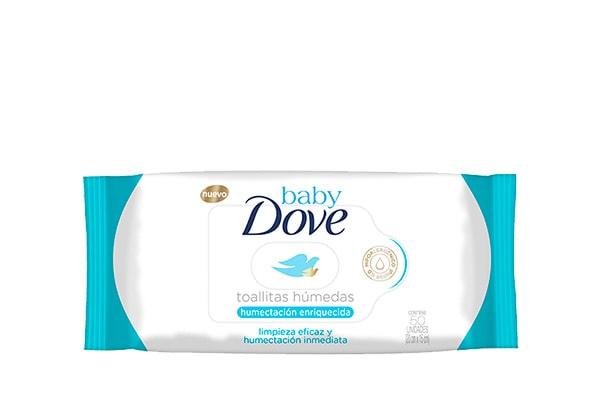 Dove Baby Toallas humedas humectación enriquecida 50 unidades