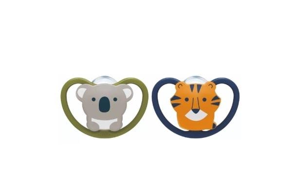 Nuk Chupete Space Koala-Tigre