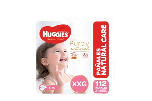 Huggies Natural Care Ellas XXG