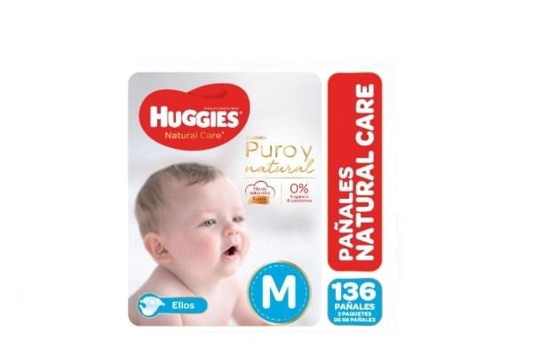 Huggies Natural Care Ellos M