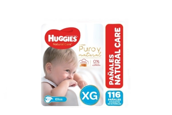 Huggies Natural Care Ellos XG