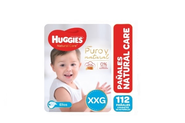 Huggies Natural Care Ellos XXG
