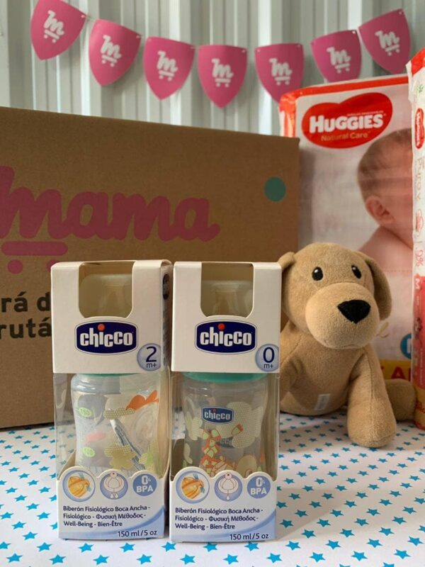 Regalo! Mamadera Chicco talle 2M