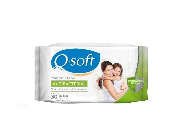 Q-Soft Toallitas Humedas Antibacteriales