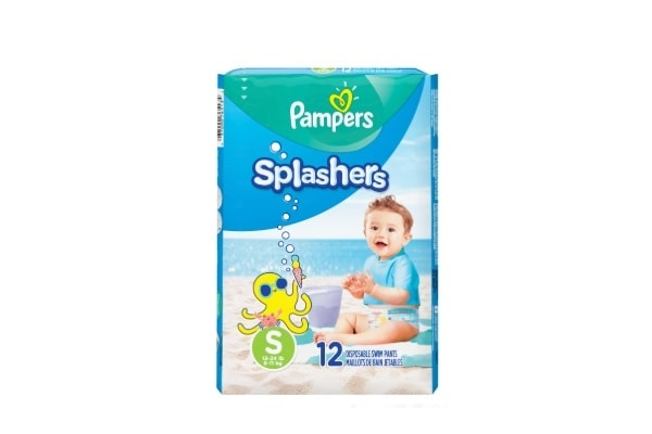Pack Pampers Splashers Talle S