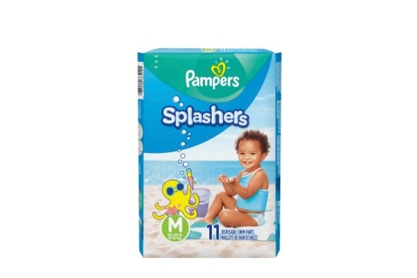 Pack Pampers Splashers Talle M