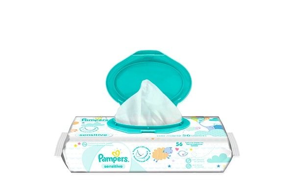 Pampers Toallas Humedas Sensitive 56un