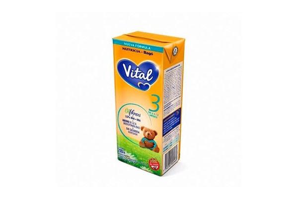 Leche Vital 3 Liquida 200ml 12 A 18m