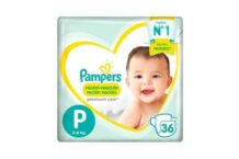 Pañales Pampers Premium Care P
