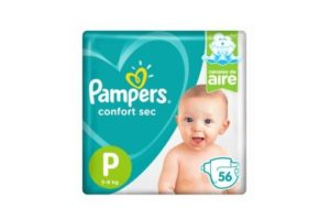 Pañales Pampers Confort Sec P