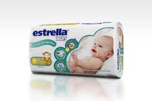 Pañales Estrella Baby P