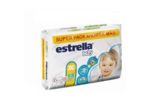 Pañales Estrella Baby XG