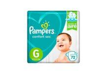 Pañales Pampers Confort Sec G