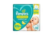 Pañales Pampers Confort Sec RN