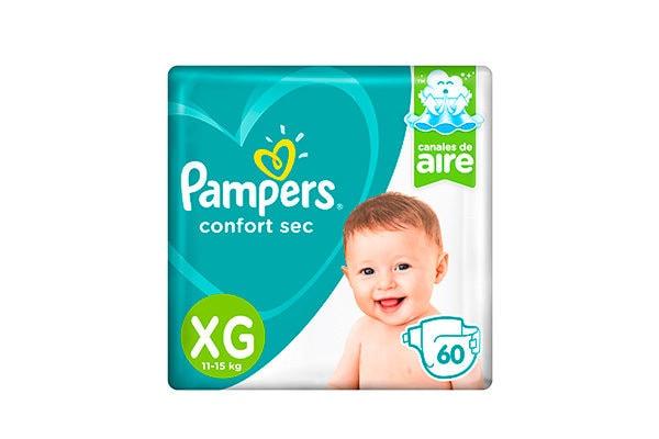 Pañales Pampers Confort Sec XG